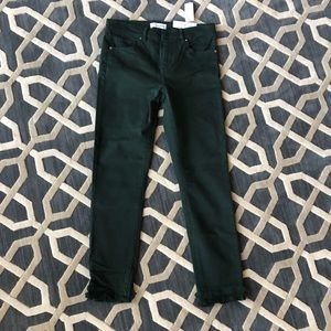 Loft forest green jeans size 27 size 4